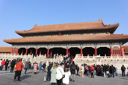 天安門広場|故宮|景山公園|北京観光旅行2日目ルート旅行記|チケットなど注意事項あり