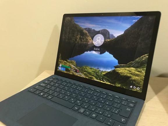 Surface Laptop2レビュー!おしゃれなノートパソコン|最近のお気に入り