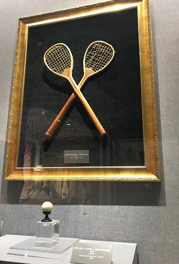 最初の卓球ラケット