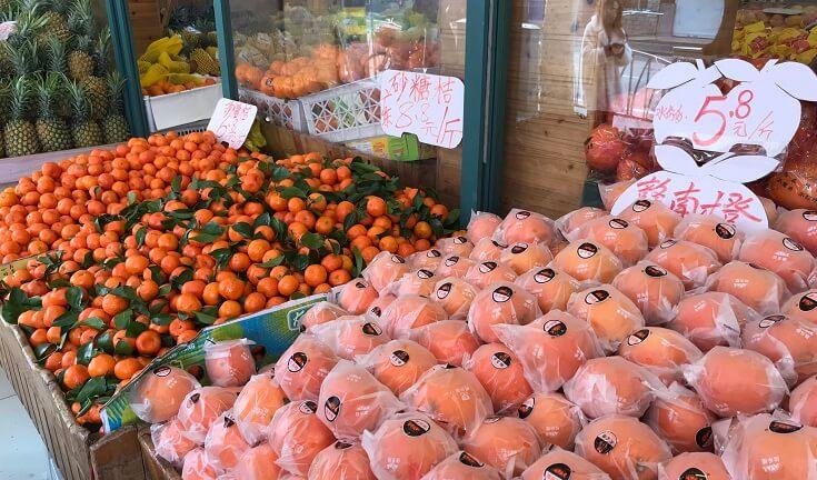 中国の果物屋で買い物。安い!生産量も多い中国フルーツのまとめ